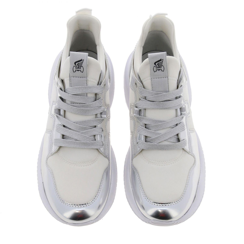 Shoes women Hogan silver 3