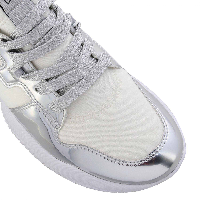 Shoes women Hogan silver 4