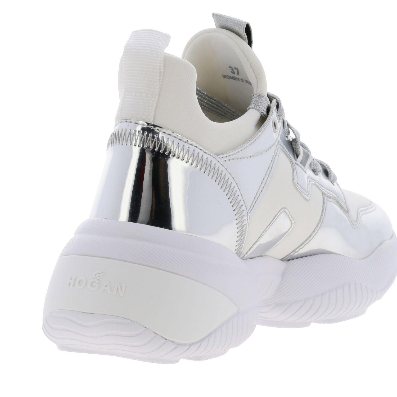 Shoes women Hogan silver 5