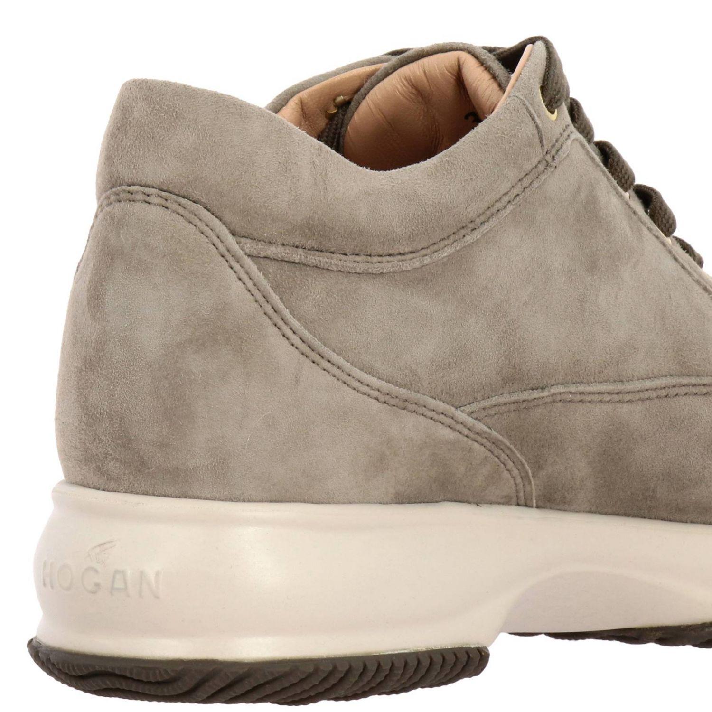 Sneakers Hogan: Hogan Interactive suede sneakers with flower-shaped micro studs grey 1 4