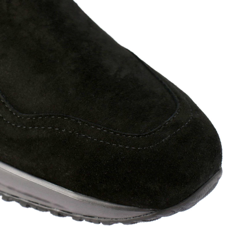 Hogan Interactive Chelsea运动鞋,采用绒面革,松紧带设计 黑色 3