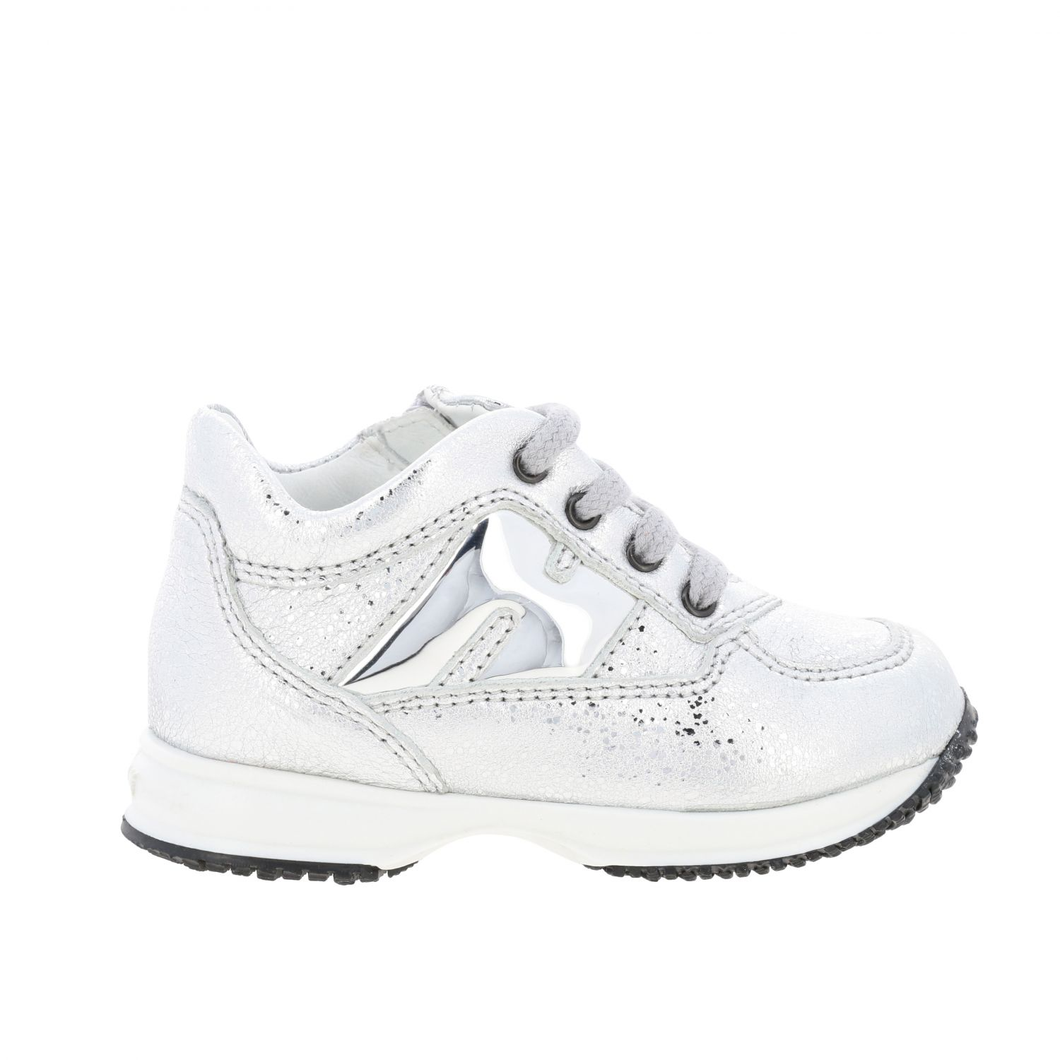 Shoes Hogan Baby: Shoes kids Hogan Baby silver 1
