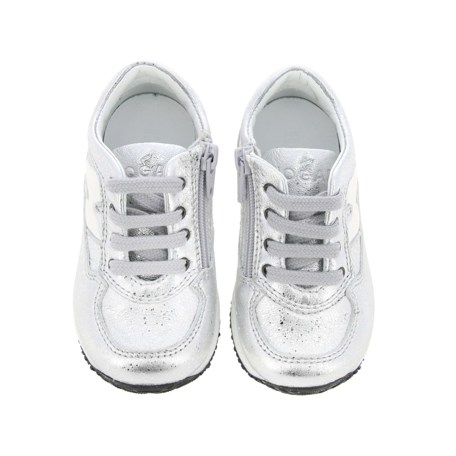 Shoes Hogan Baby: Shoes kids Hogan Baby silver 3