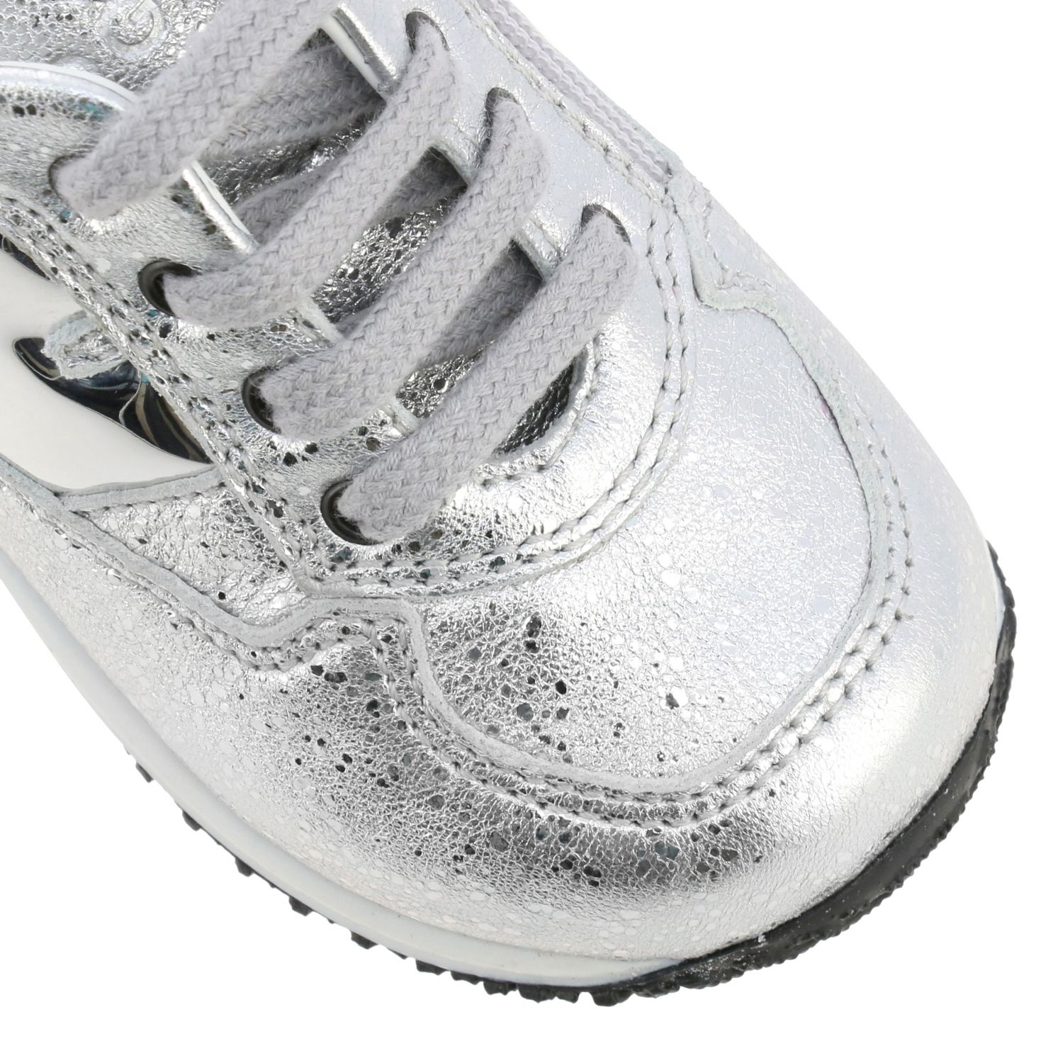 Shoes Hogan Baby: Shoes kids Hogan Baby silver 4