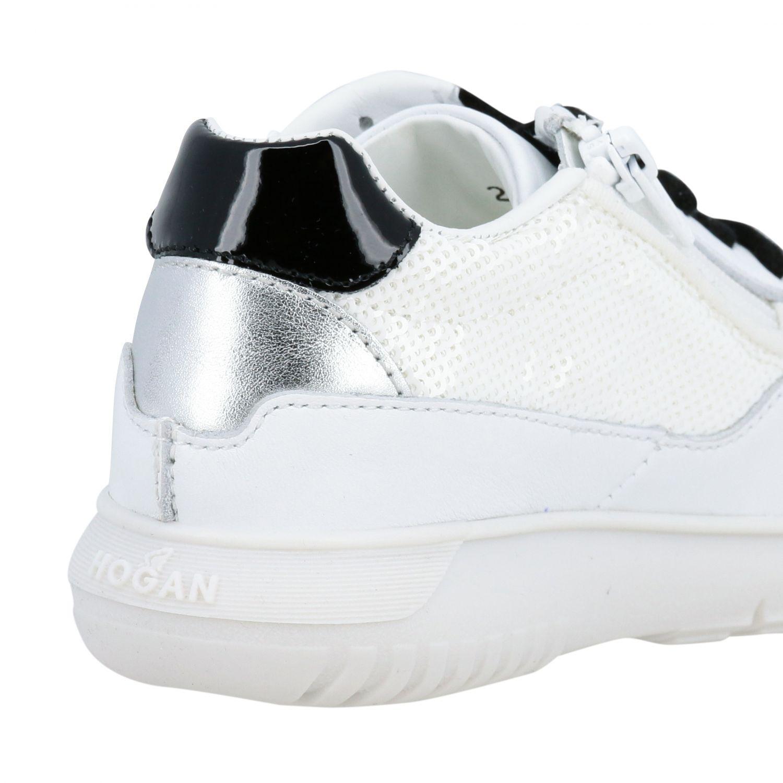 Shoes kids Hogan Baby white 5