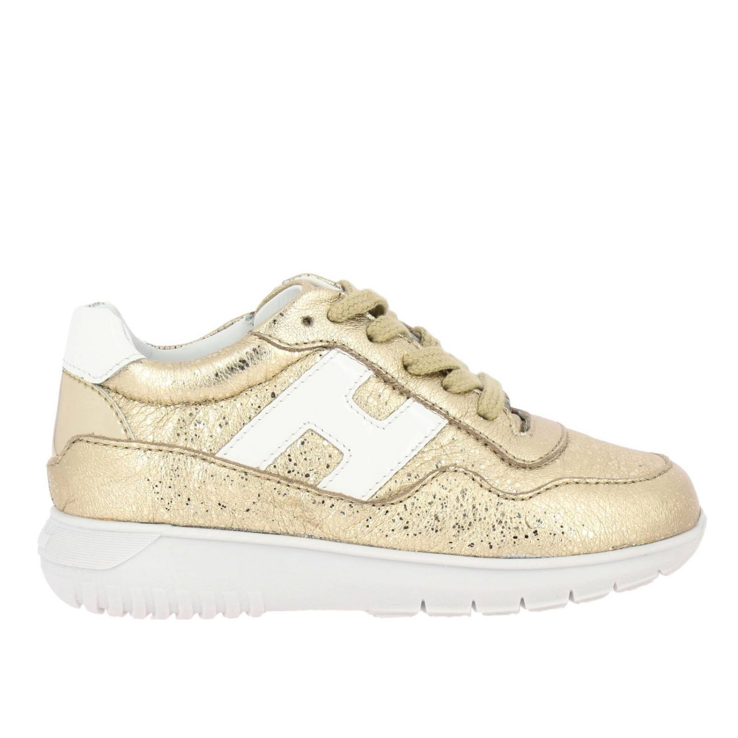 Shoes kids Hogan Baby gold 1