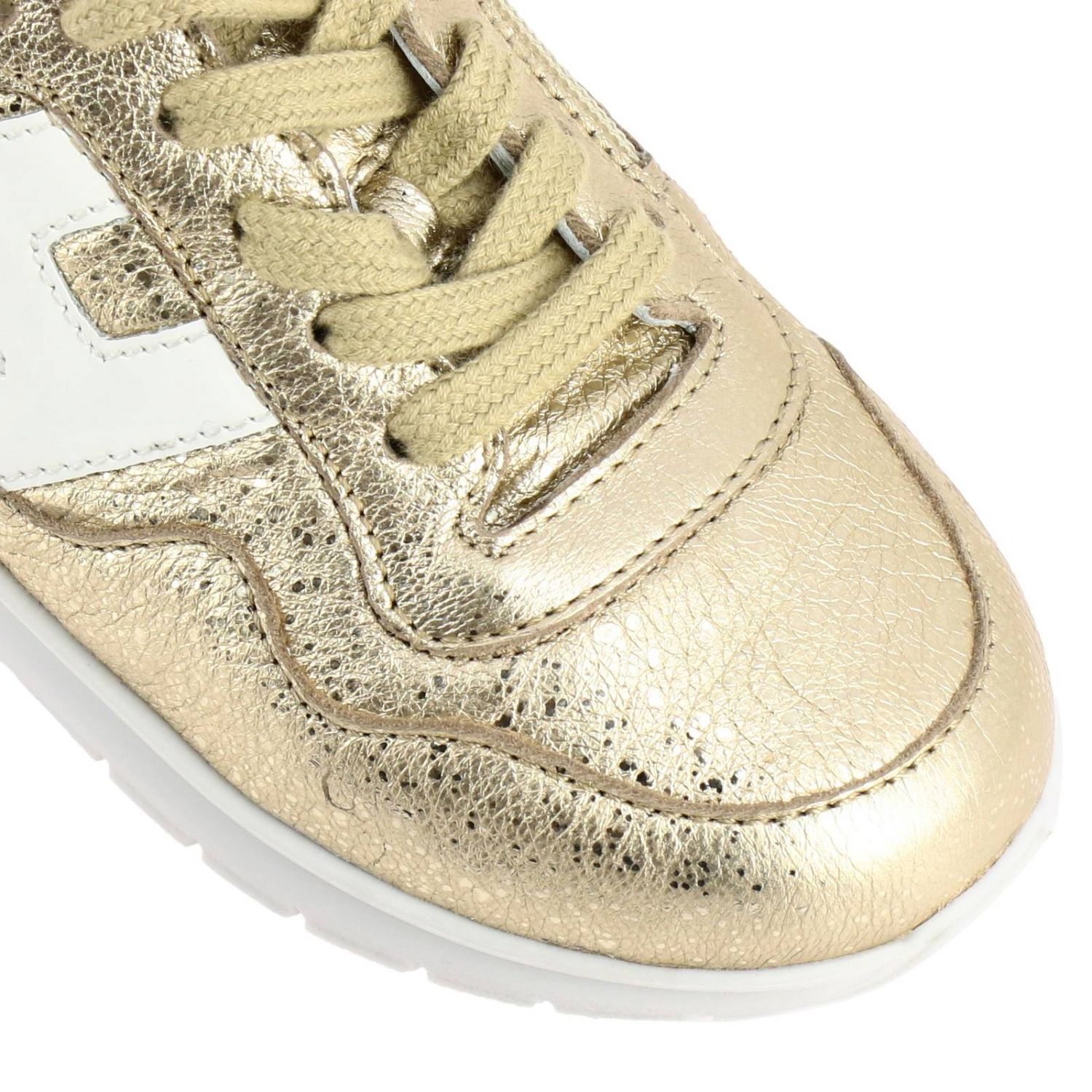 Shoes kids Hogan Baby gold 3