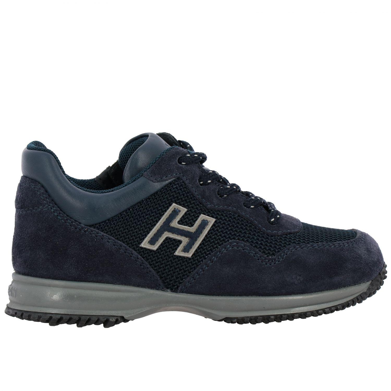 Zapatos niños Hogan Baby azul oscuro 1