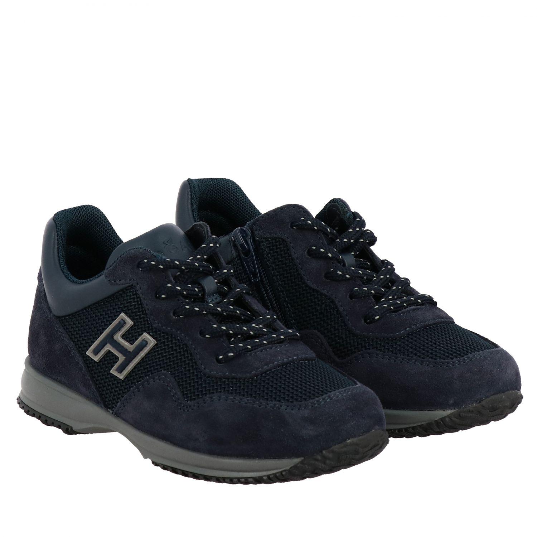 Zapatos niños Hogan Baby azul oscuro 2