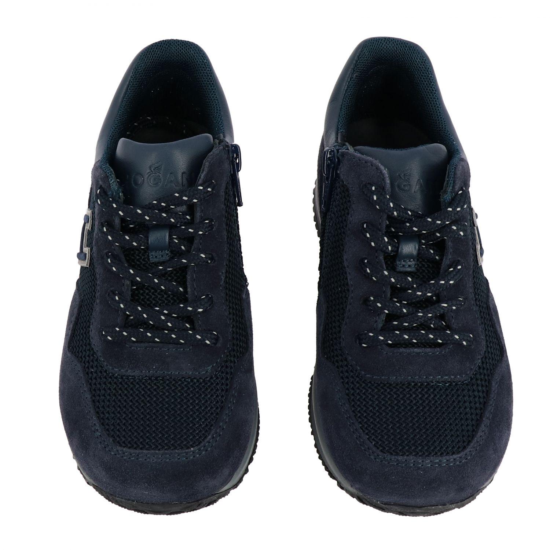 Zapatos niños Hogan Baby azul oscuro 3