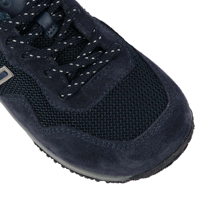Zapatos niños Hogan Baby azul oscuro 4