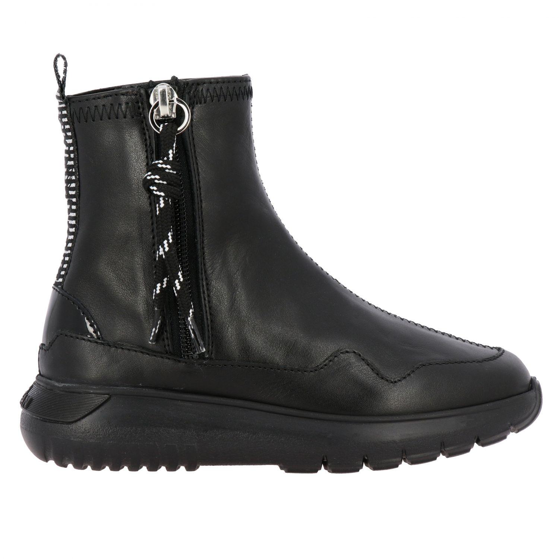 Zapatos niños Hogan negro 1