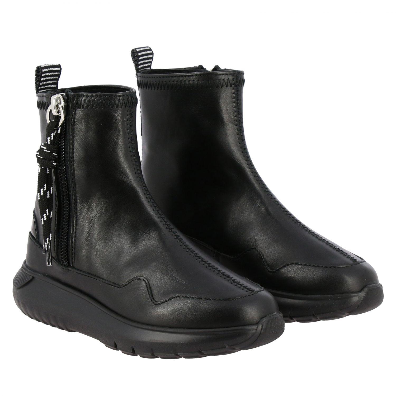 Zapatos niños Hogan negro 2