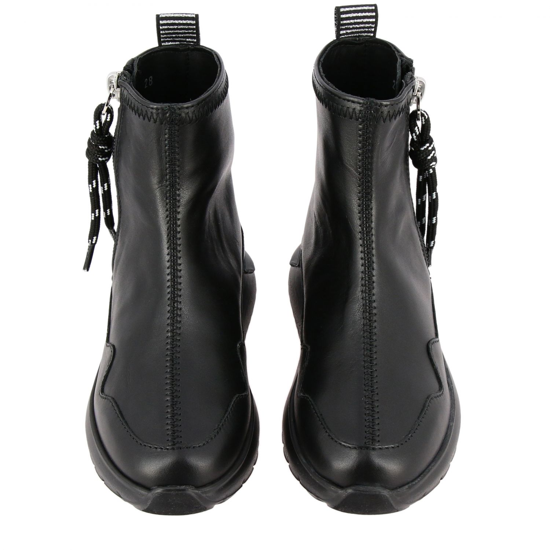 Zapatos niños Hogan negro 3