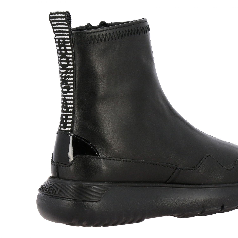 Zapatos niños Hogan negro 5