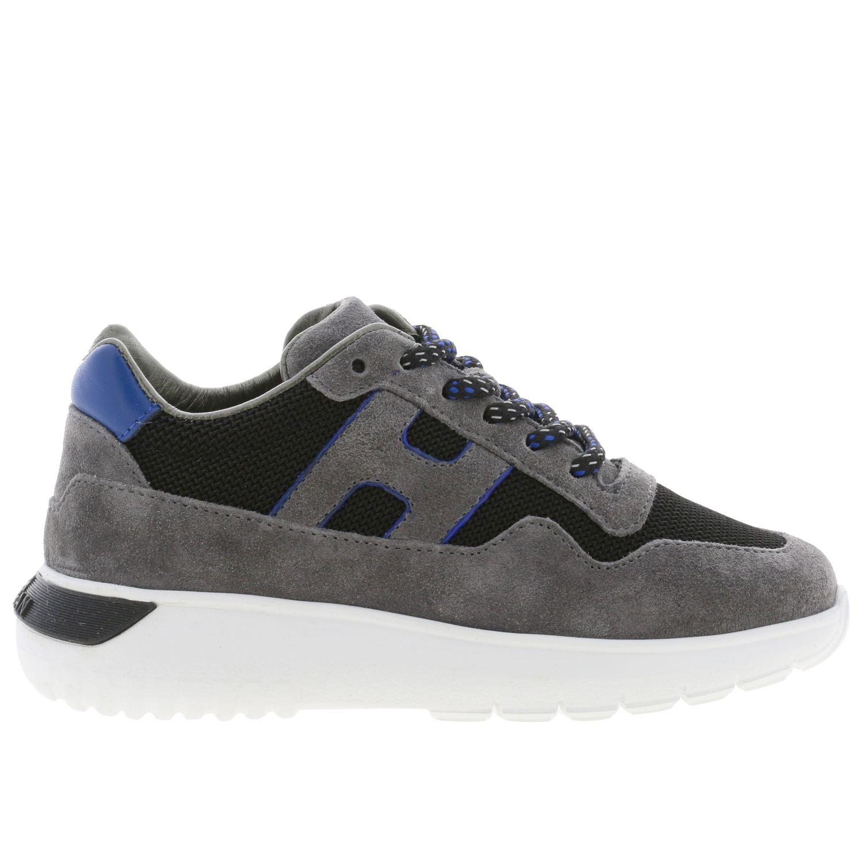 Shoes kids Hogan grey 1