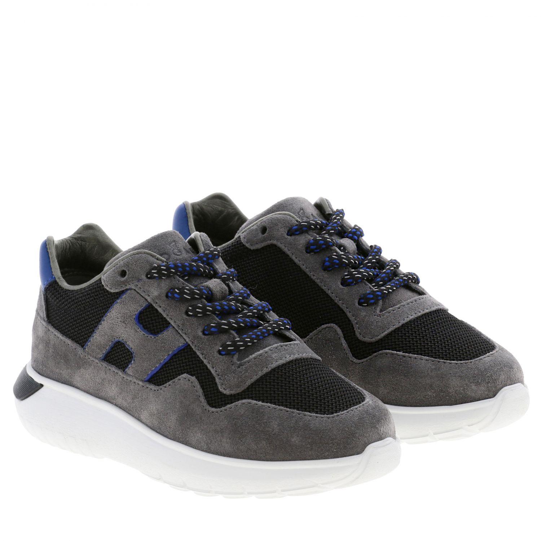 Shoes kids Hogan grey 2