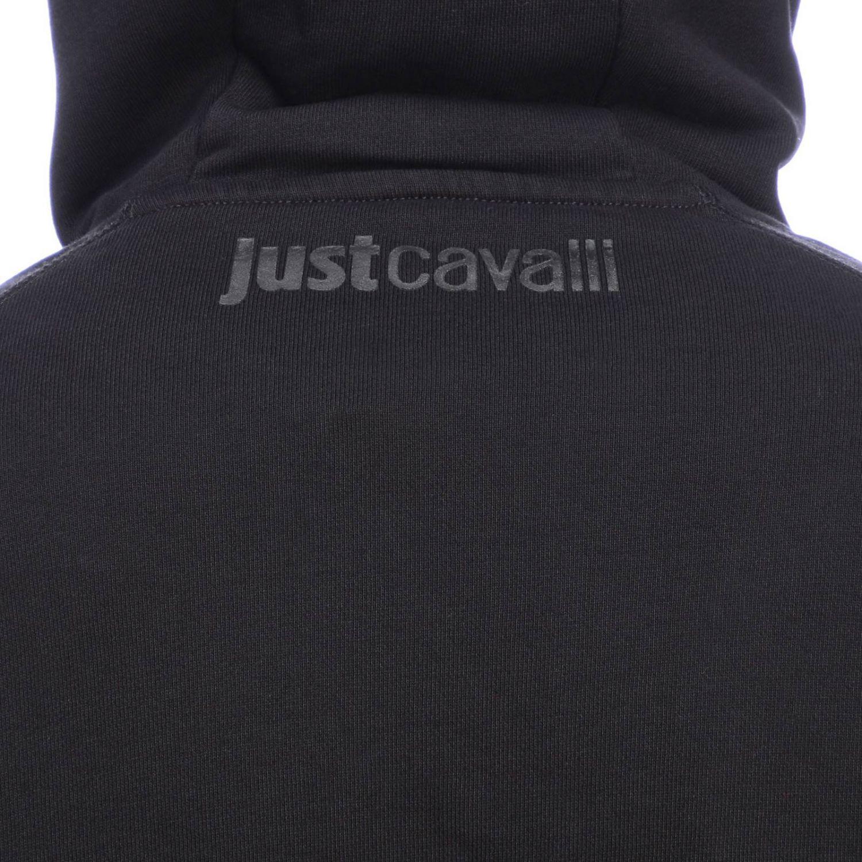 Pull homme Just Cavalli noir 4