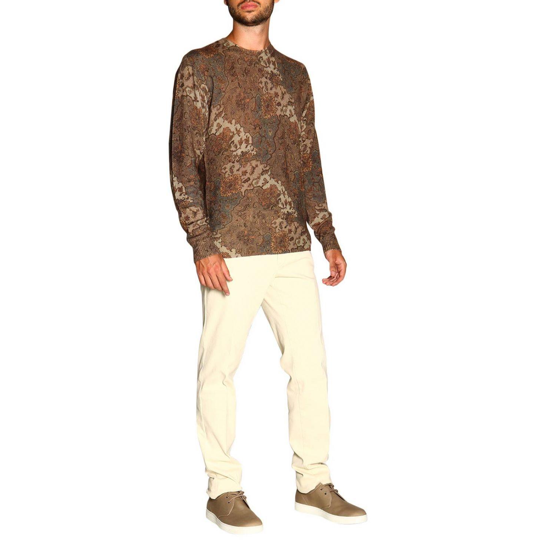 Sweater men Etro beige 2