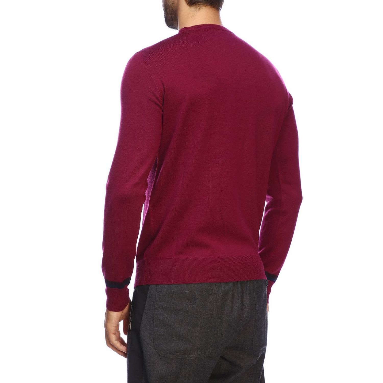 Suéter básico Etro de manga larga de lana fresa 3