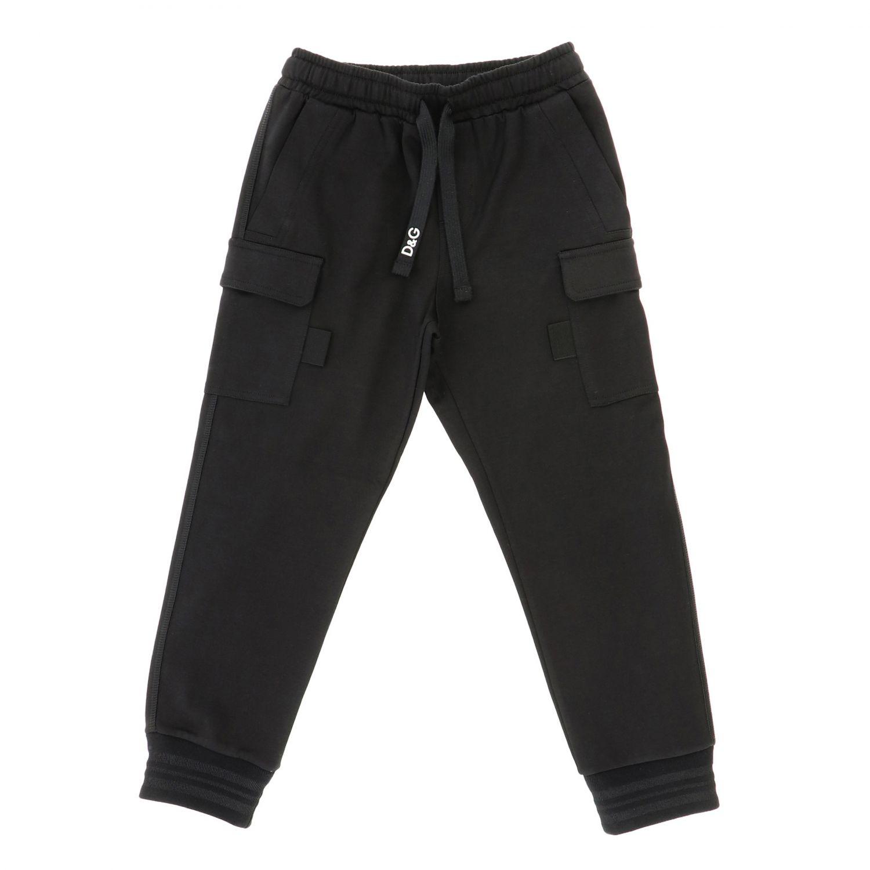 Trousers Dolce & Gabbana: Trousers kids Dolce & Gabbana black 1
