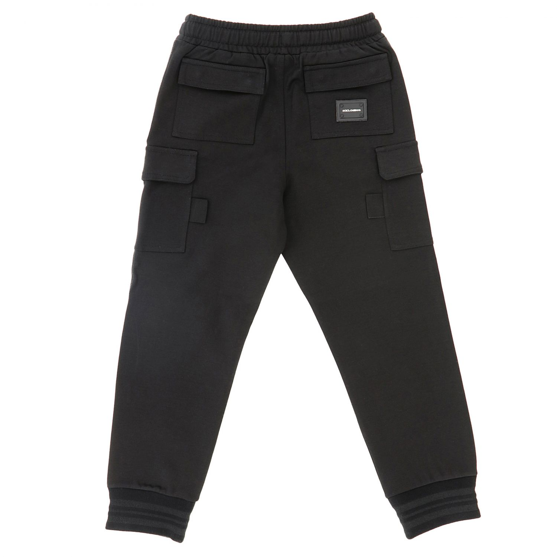Trousers Dolce & Gabbana: Trousers kids Dolce & Gabbana black 2