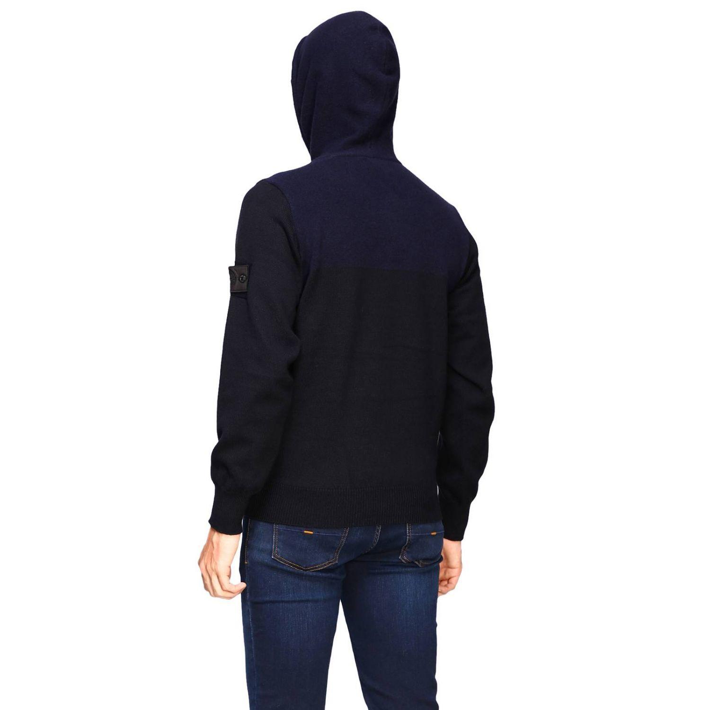 Sweater men Stone Island blue 3