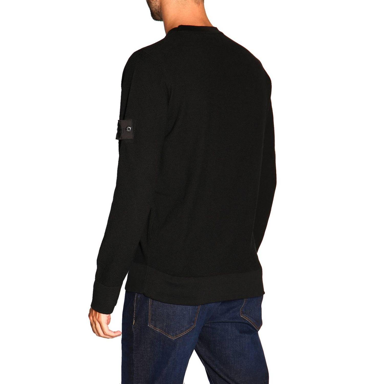 Sweater men Stone Island black 3