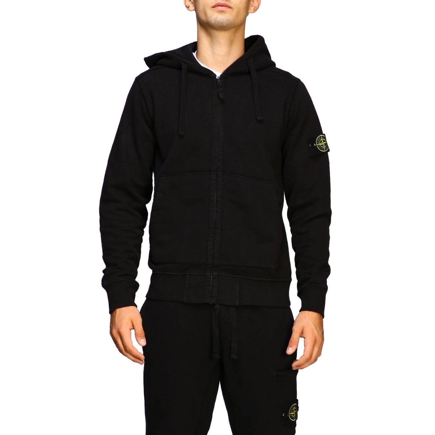 Sweater men Stone Island black 1