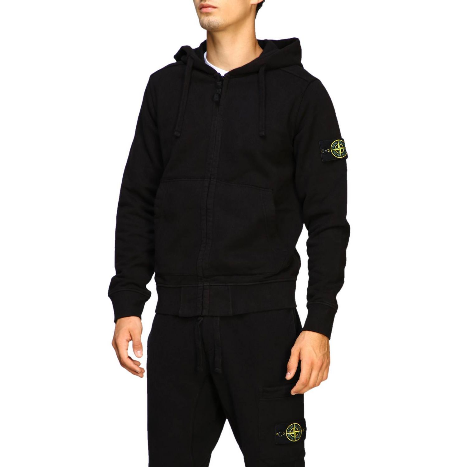 Sweater men Stone Island black 4