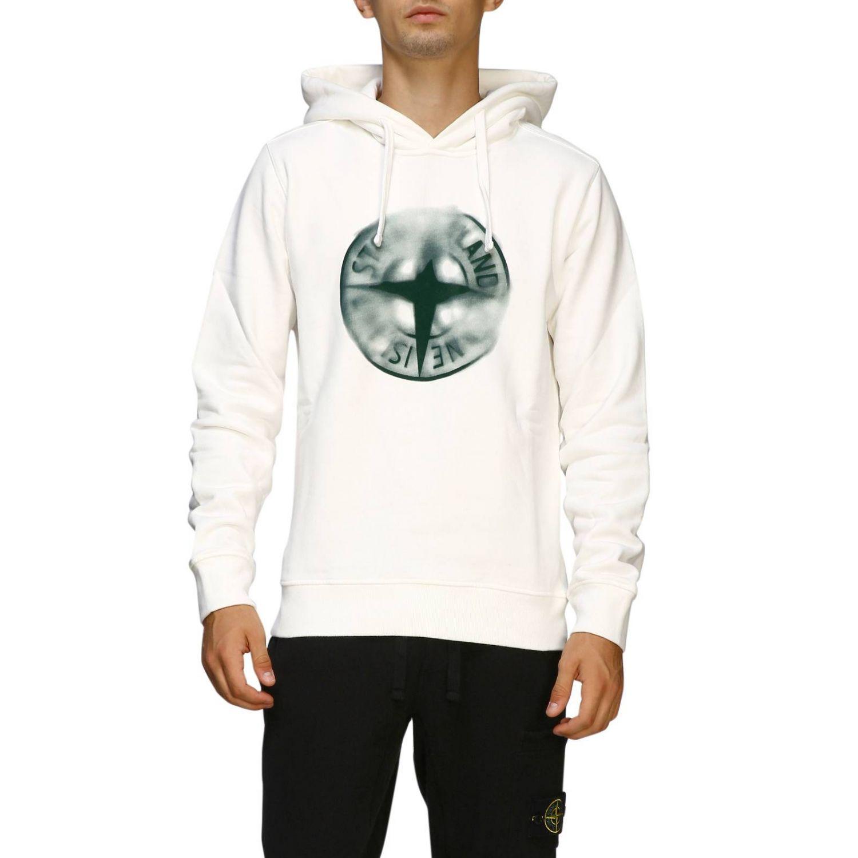 Sweater men Stone Island white 1