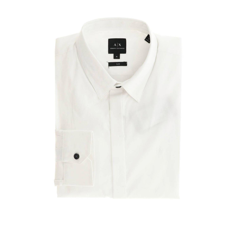 Shirt men Armani Exchange white 1
