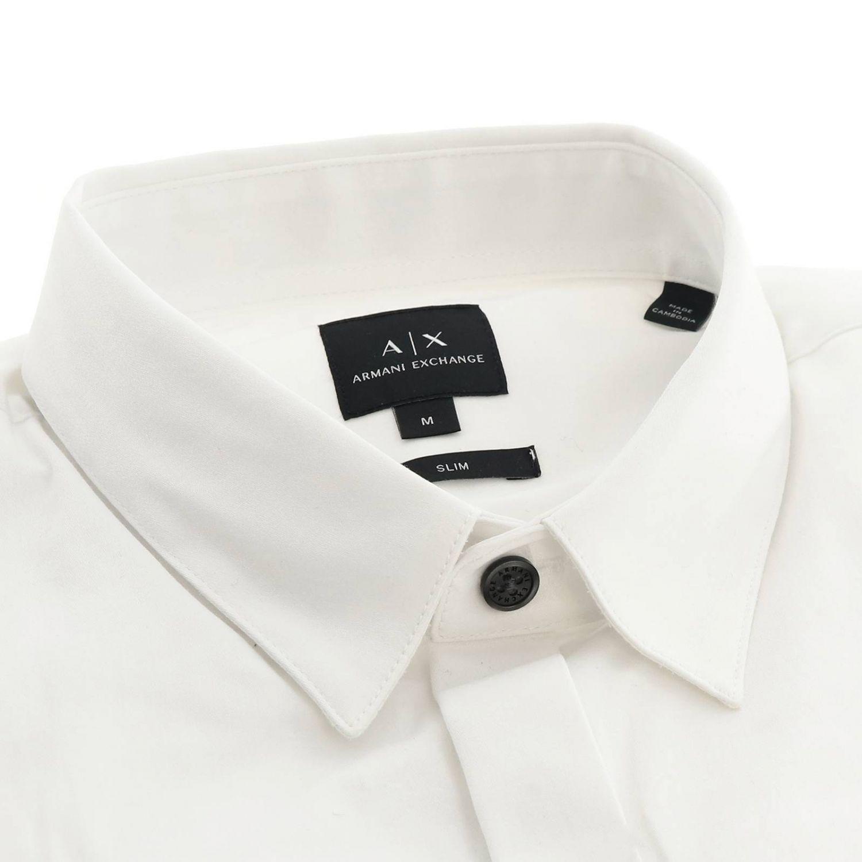 Shirt men Armani Exchange white 2