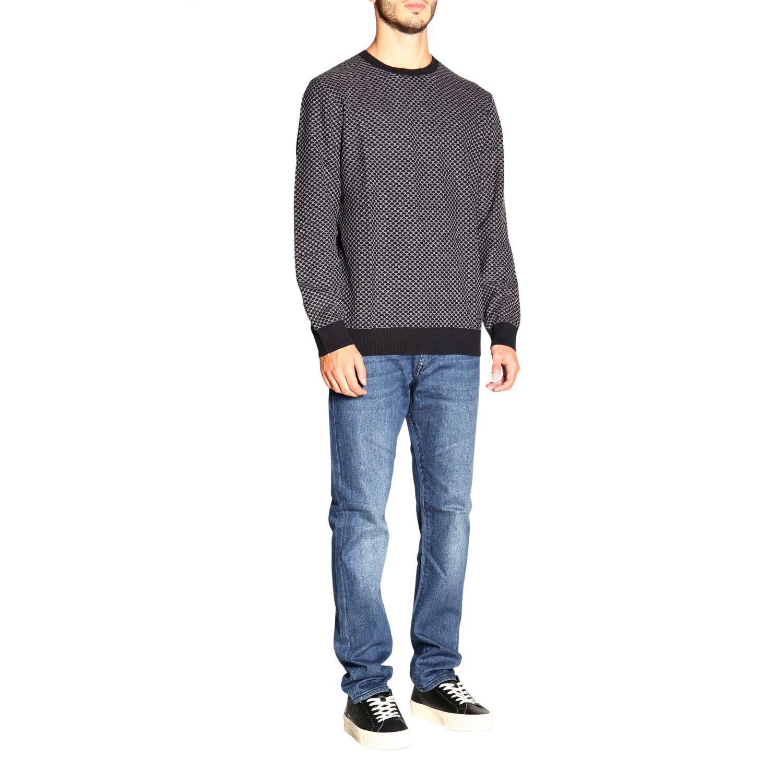 Sweater men Armani Exchange black 2
