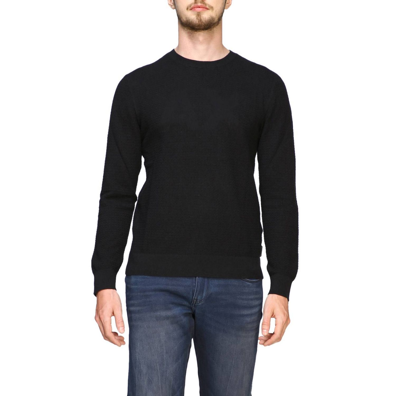 Sweater Armani Exchange: Sweater men Armani Exchange black 1