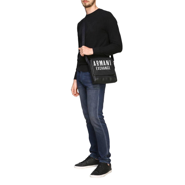 Sweater Armani Exchange: Sweater men Armani Exchange black 2