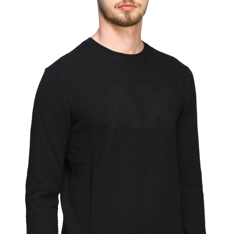 Sweater Armani Exchange: Sweater men Armani Exchange black 5