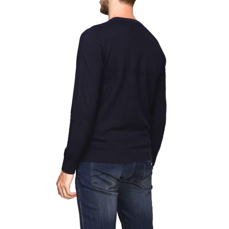 毛衣 Armani Exchange: Armani Exchange 圆领毛衣 蓝色 3