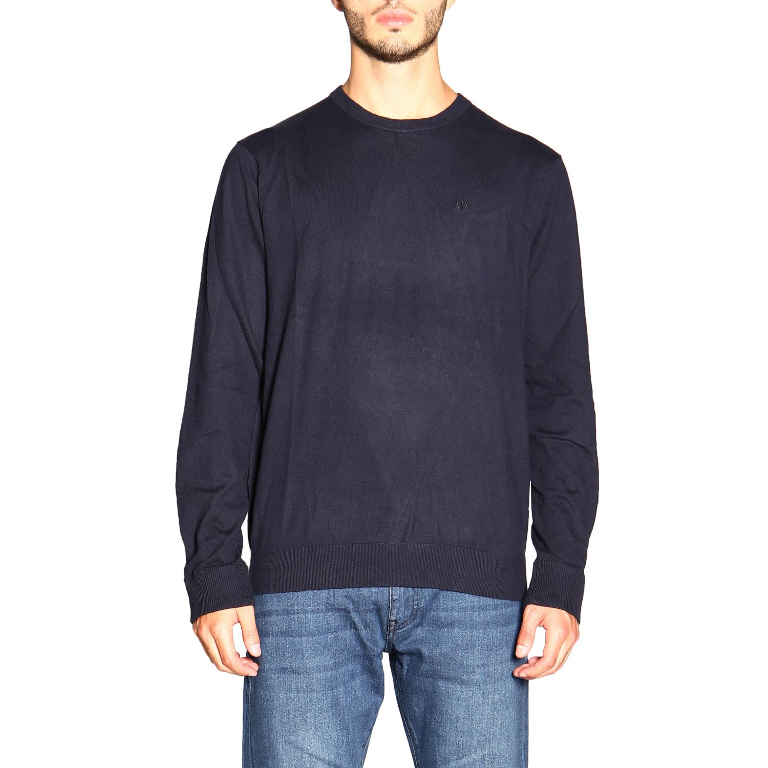 Sweater men Armani Exchange blue 1