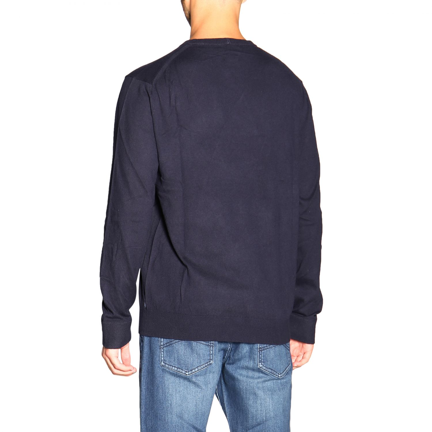 Sweater men Armani Exchange blue 3