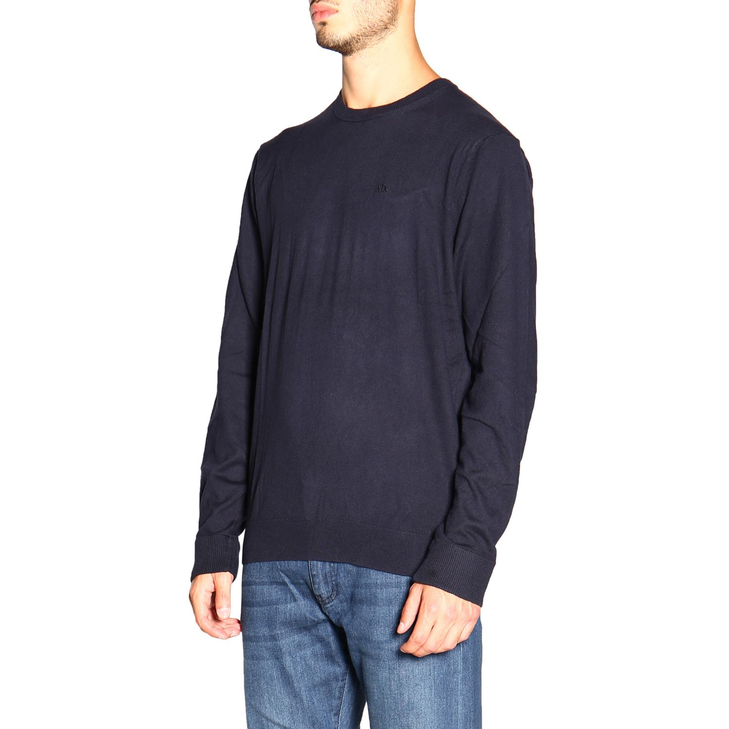 Sweater men Armani Exchange blue 4