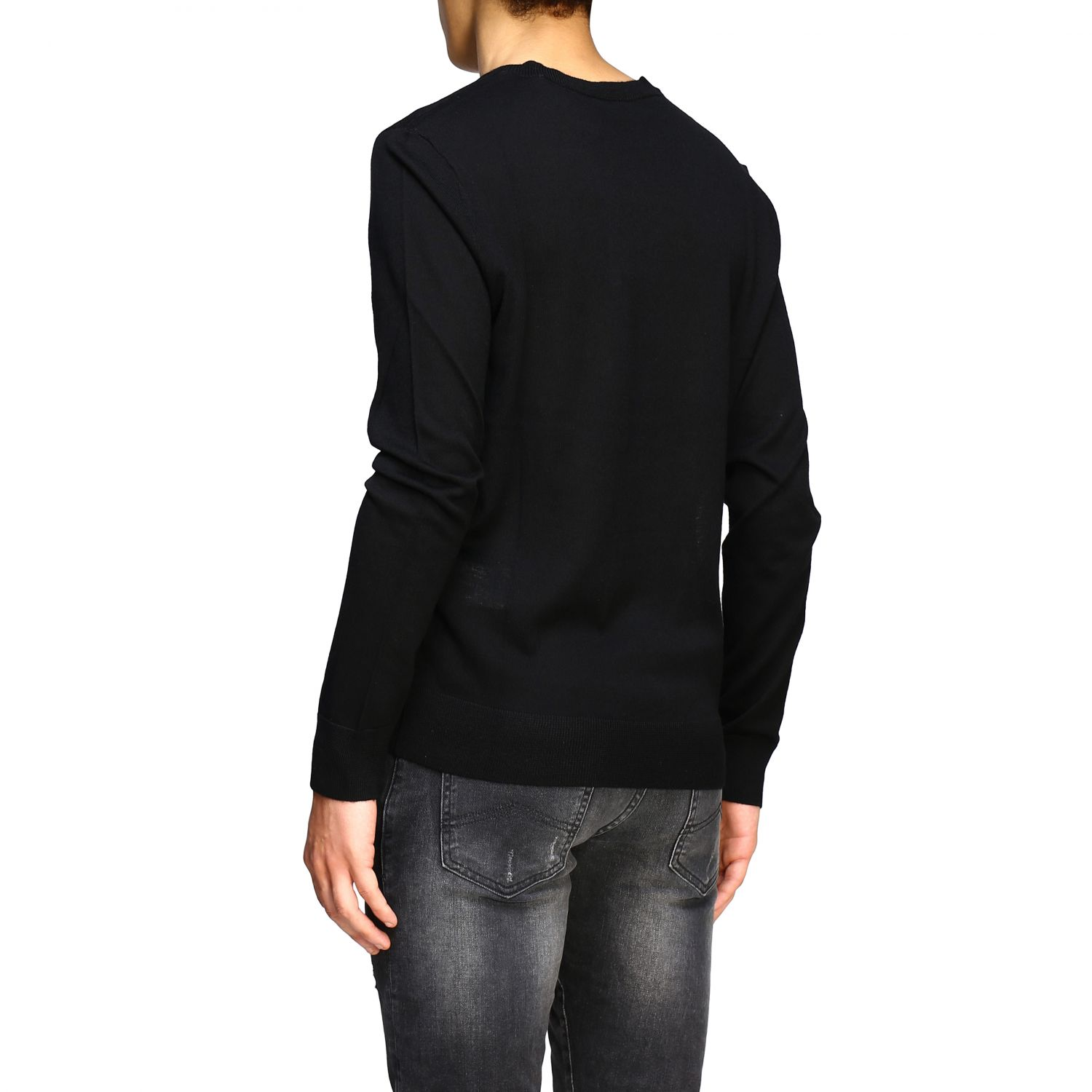 Pull homme Armani Exchange noir 3