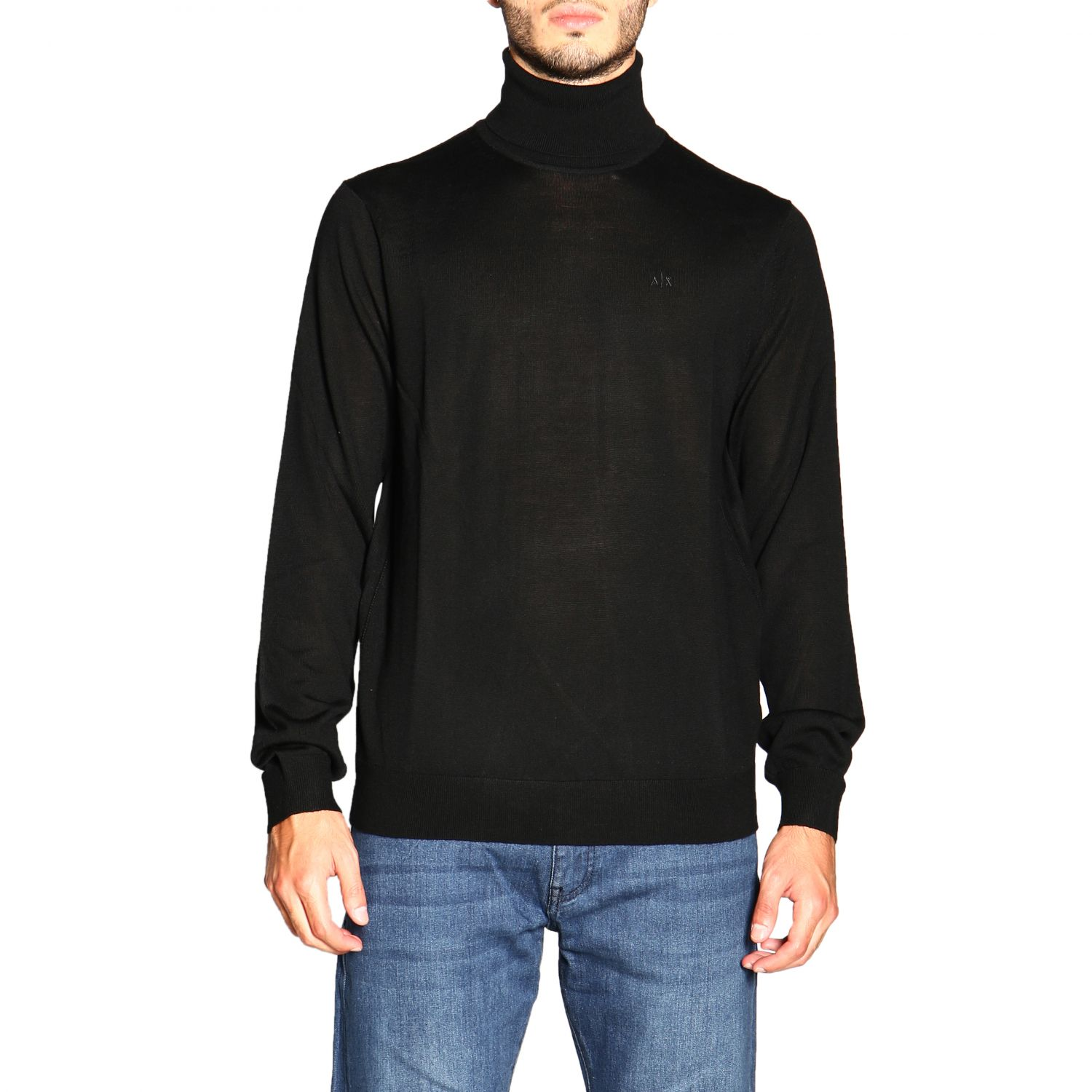 Sweater men Armani Exchange black 1