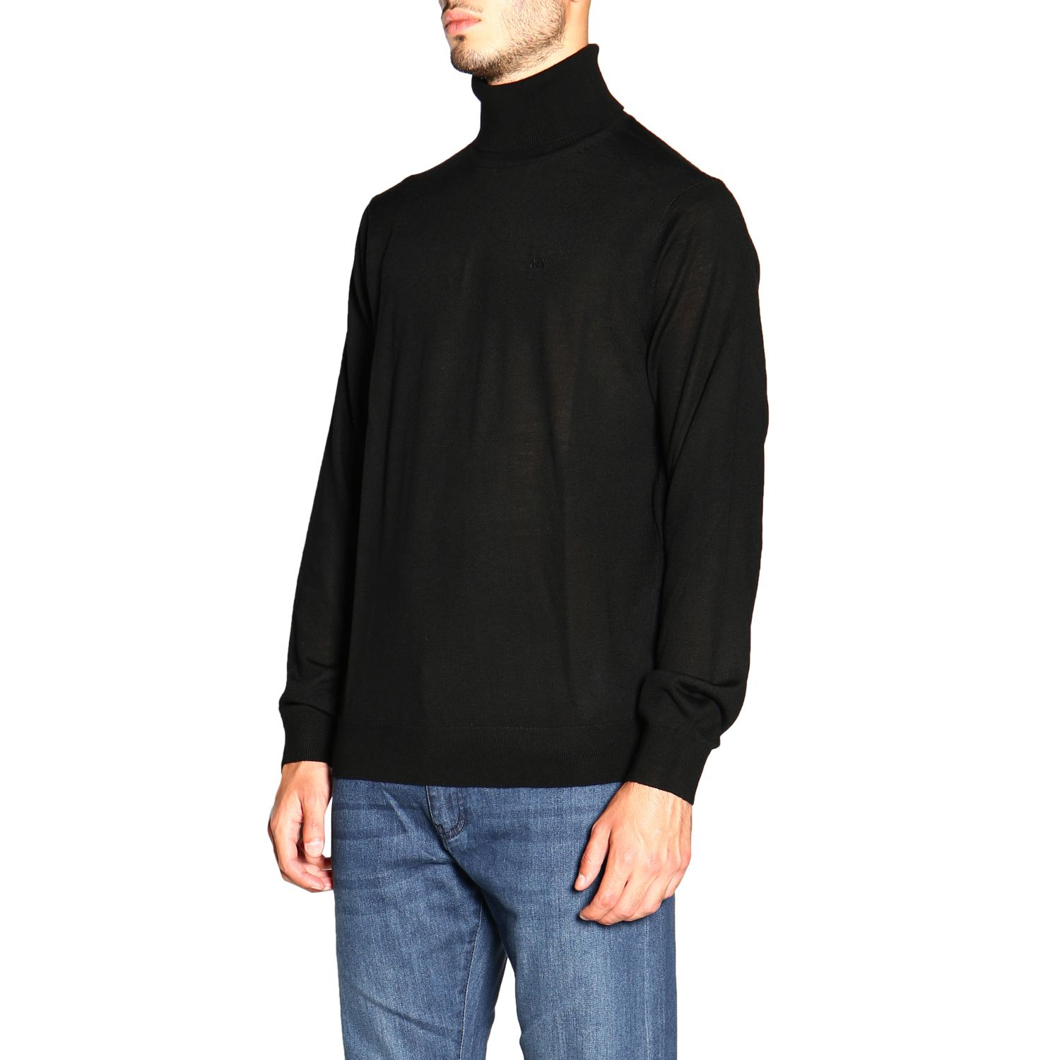 Sweater men Armani Exchange black 4