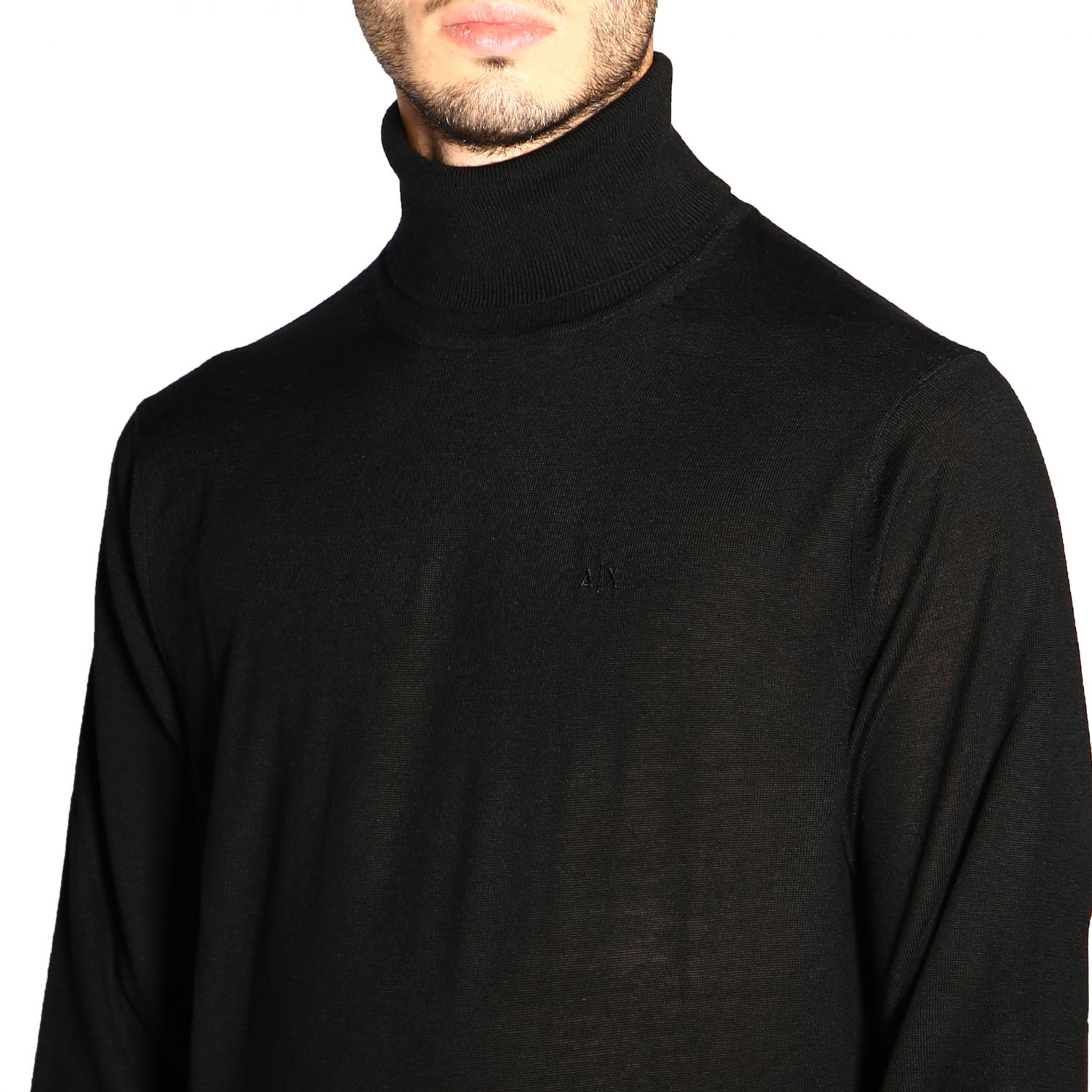 Sweater men Armani Exchange black 5