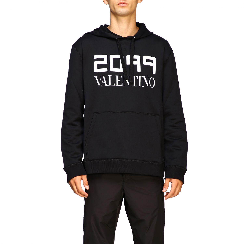 Sweatshirt Valentino: Pull homme Valentino noir 1