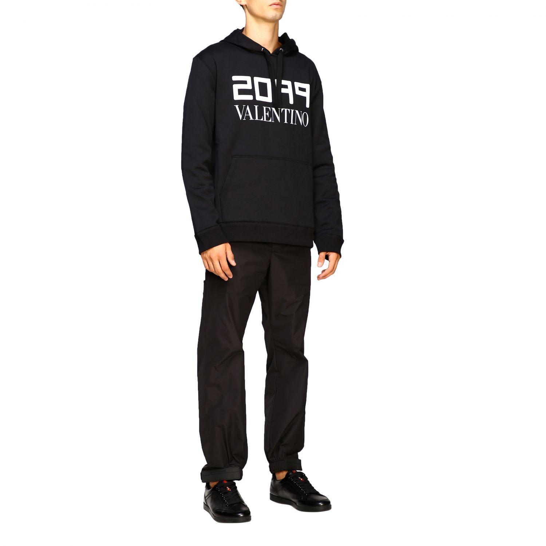 Sweatshirt Valentino: Pull homme Valentino noir 2