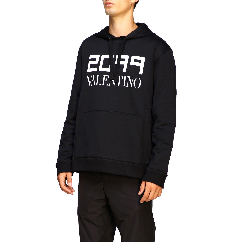 Sweatshirt Valentino: Pull homme Valentino noir 4