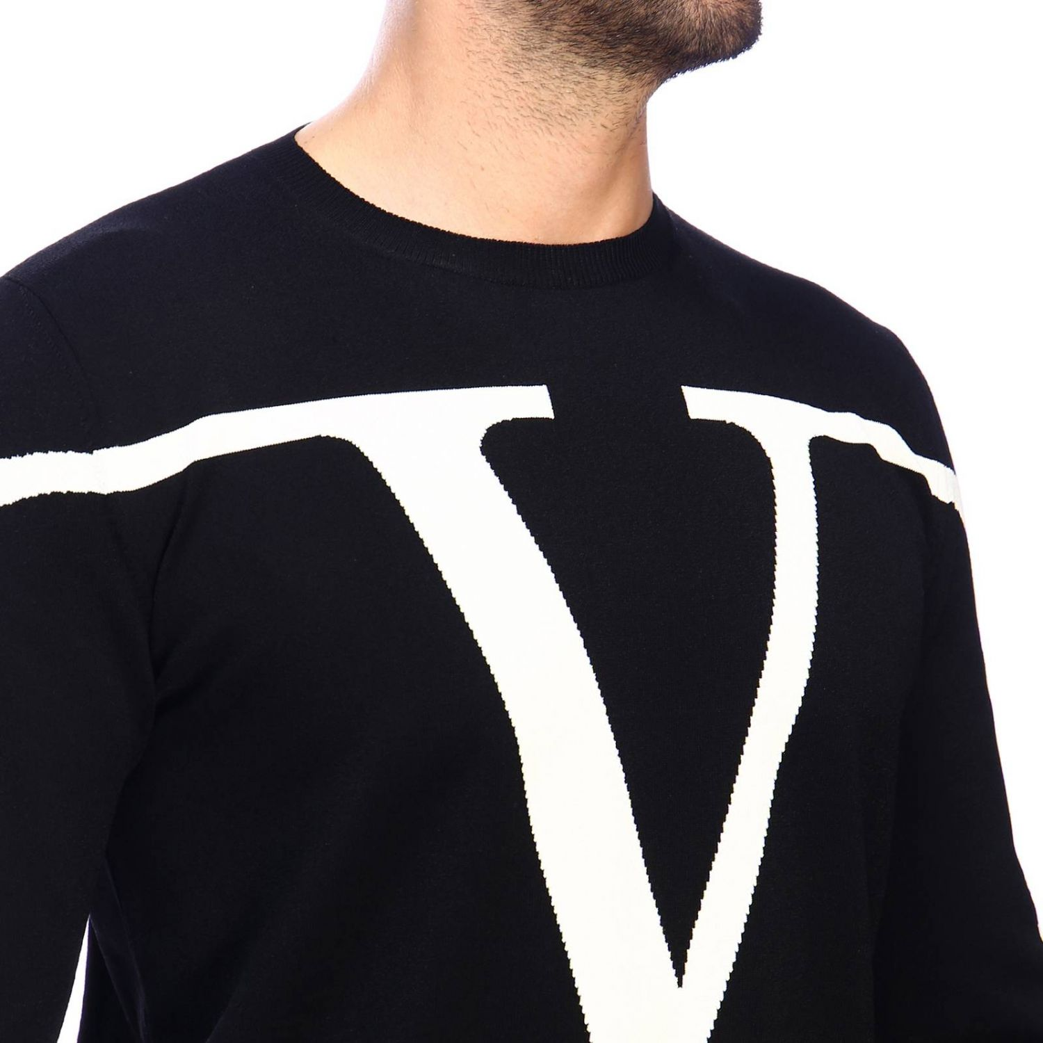 Jumper men Valentino black 4