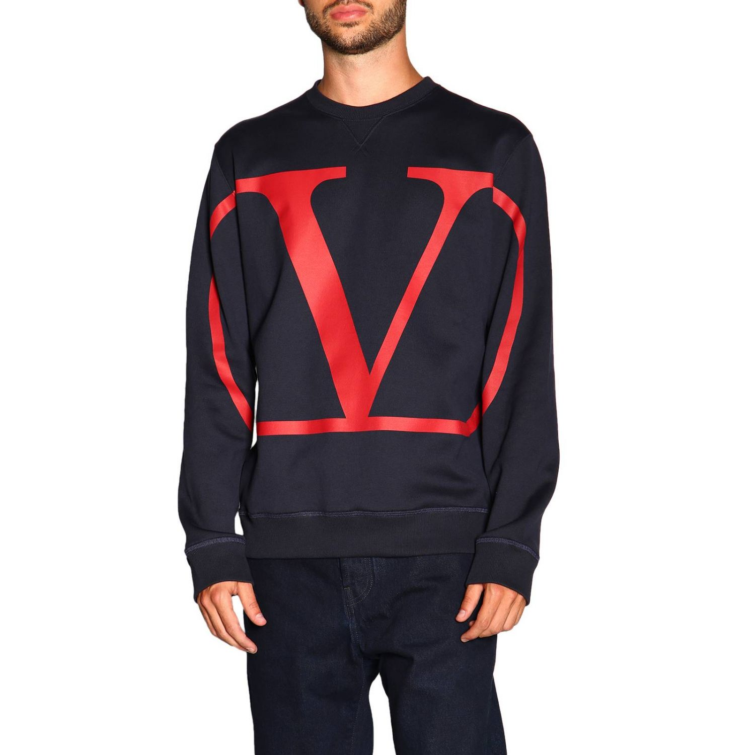 Sweater men Valentino blue 1